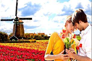5-6 denní zájezd Amsterdam. Květinový park Keukenhof, Zaanse Schans, Alkmaar