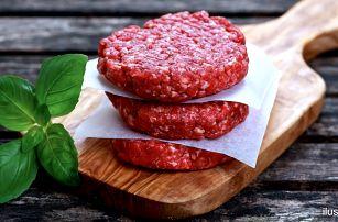 500 g prémiového mletého masa na domácí burgery