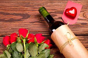 Romantický dárek: fotografie na víno nebo belgickou čokoládu 250 g. Možnost osobního odběru