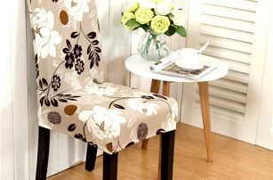 Elastický potah na židli - 11 variant