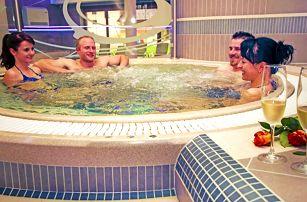 Relax na Vysočině pro DVA s neomezeným wellness a polopenzí v novém penzionu