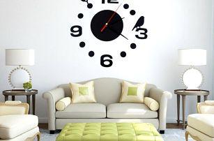 Nalepovací hodiny na stěnu - dodání do 2 dnů