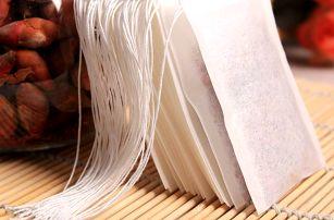 Praktické jednorázové sáčky na sypané čaje - 100 kusů