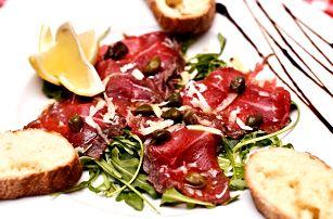 Slunná Dalmácie na talíři: 4chodové menu pro 2
