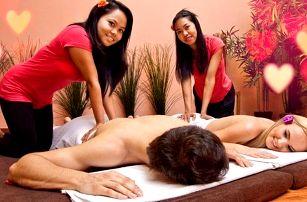 Valentýnská masáž pro dva: na výběr z 5 masáží
