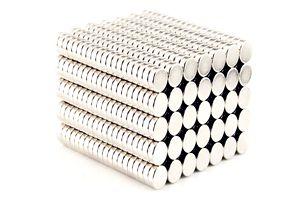 Silné neodymové magnety (100 ks)
