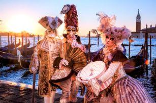 Zájezd na karneval do Benátek s návštěvou vinařství pro 1 osobu