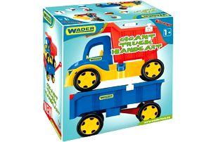 WADER Auto gigant truck + dětská vlečka