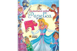 KNIHA Skládačková knížka - Popelka