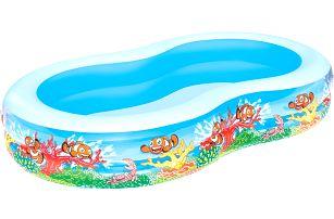 BESTWAY Nafukovací bazén oválný 262 x 157 x 46 cm