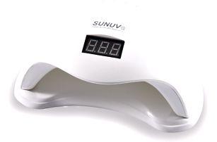 UV LED lampa na gelové nehty s LCD displejem