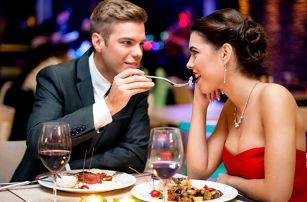 Romance u stolu: Menu pro 2 labužníky