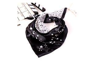 Krásný šátek s hvězdami - 2 barvy