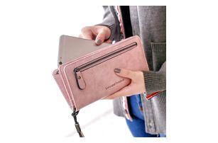 Dámská peněženka polodlouhá - 2 barvy