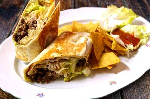 Mexické menu: Poctivé burrito, nachos a salsy
