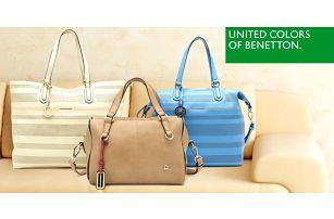 Šmrncovní dámské kabelky Benetton