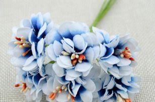 Umělý svazek květin - 11 barev