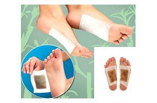 Detoxikační náplasti na chodidla - 40 ks