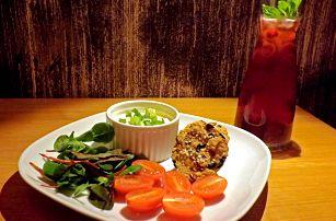 Snídejte zdravě: slané cookies a nápoj dle chuti