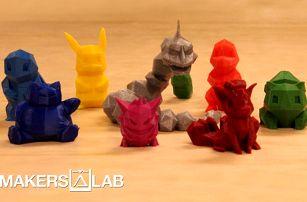 Tisk vlastního náhledu na 3D tiskárně v MakersLab v Praze