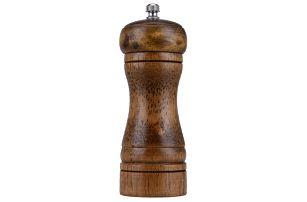 Dřevěný mlýnek na sůl/pepř a jiné koření – různé velikosti