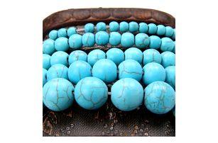 Korálky kamenného vzhledu pro výrobu šperků - různé velikosti
