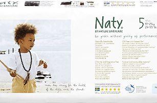NATY NATURE BABYCARE 5 JUNIOR, 42 ks (11 - 25 kg) ECONOMY PACK - jednorázové pleny