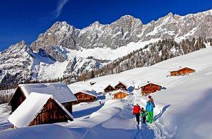 Nízké Taury v Rakousku pro DVA s polopenzí a saunou + dítě do 12 let zdarma