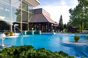 Danubius Health Spa Resort Bük**** v lázních Bükfürdő s all inclusive programem a neomezeným wellness