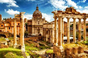 Letecký zájezd do Říma vč. ubytování se snídaní