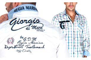 Luxusní pánská košile Giorgio Di Mare v 11 provedeních