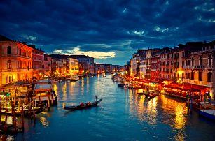 Itálie, Lido di Jesolo: víkendové koupání + Benátky na 3 dny pro 1 osobu, termíny do 9/2017