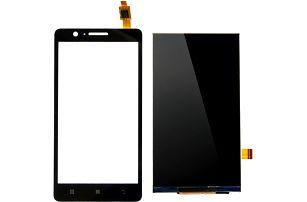 Náhradní dotykový LCD displej s nástroji pro Lenovo A536