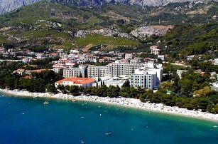 Chorvatsko - Tučepi na 8 dní, polopenze nebo snídaně s dopravou vlastní