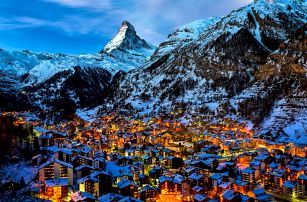 Švýcarsko: 3denní zájezd pro 1 osobu k hoře Matterhorn s dopravou z Prahy, 2.-4.6.