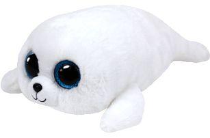 TY Beanie Boos Icy - bílý tuleň – (24 cm)