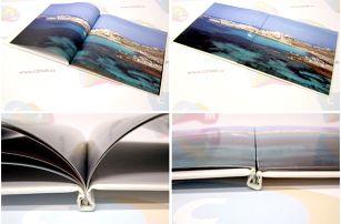 Kvalitní šitá fotokniha z vašich fotografií ve formátu A4 na výšku: na výběr 40 - 304 stran