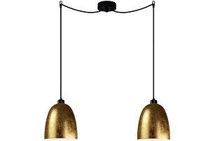 Zlato-černé dvojité světlo Sotto Luce AWA Elementary 2S - doprava zdarma!