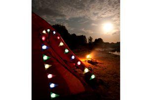 LED svítící girlanda