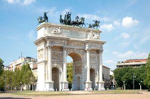 Itálie - Miláno, 3denní výlet z Prahy pro 1 osobu za nákupy a památkami, 19.-21.5.2017