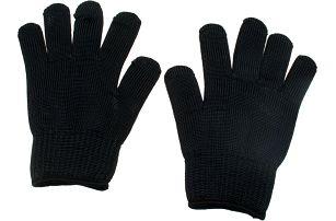 Bezpečnostní černé rukavice