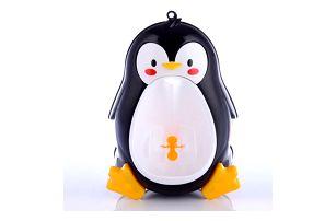 Dětský pisoár v podobě tučňáka - 3 barvy