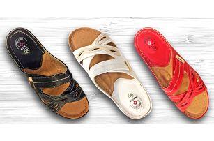Pohodlné pantofle Koka anatomicky tvarované