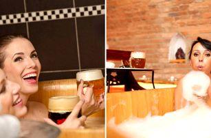 Rožnovské pivní lázně s císařskou péčí, procedurami a ubytováním v Hotelu Relax