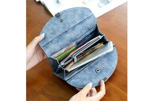 Dámská peněženka z umělé kůže - 2 barvy