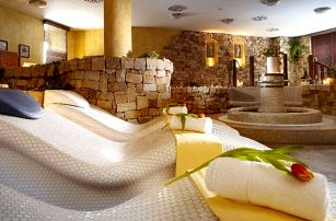 Hotel Spa Bílý Hořec s polopenzí a wellness