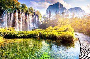 Plitvická jezera, Chorvatsko – 3denní zájezd na překrásná jezera