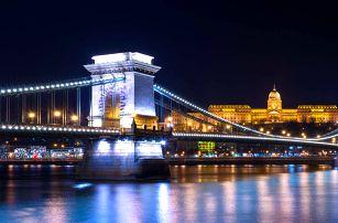 Centrum Budapešti s pobytem v Carat Boutique Hotel