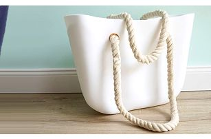 Trendy silikonová kabelka
