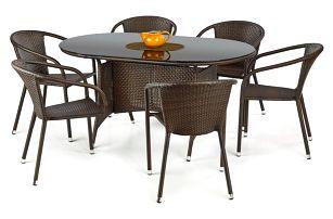 Ratanový stůl Master
